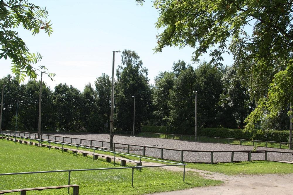 Rasenplatz und Swingground